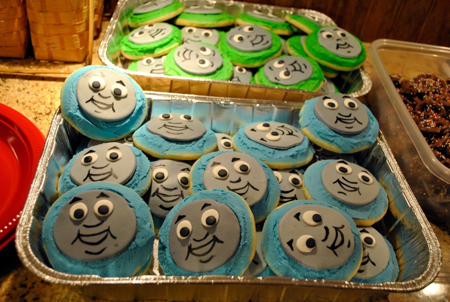 Thomas And Percy Cookies on Cake Central