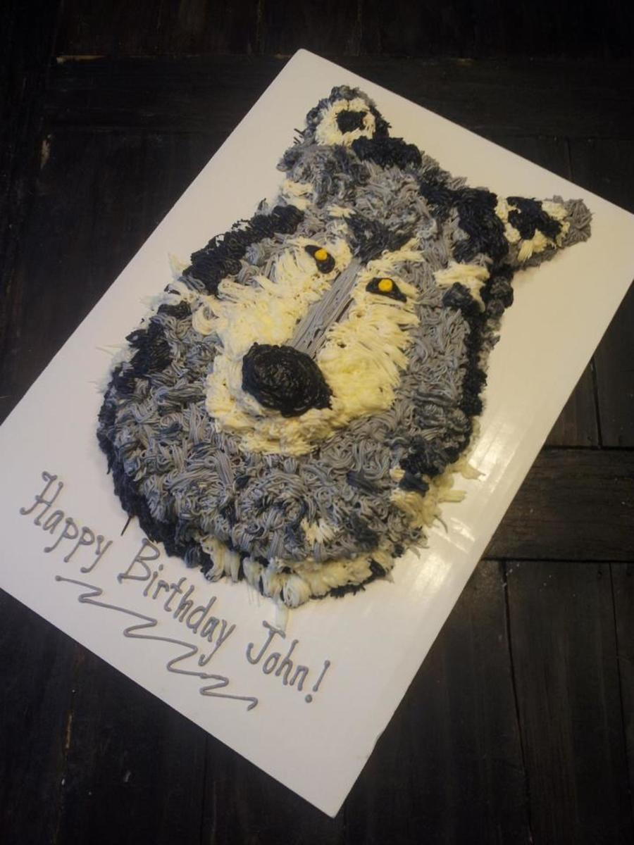 Wolf Cake on Cake Central