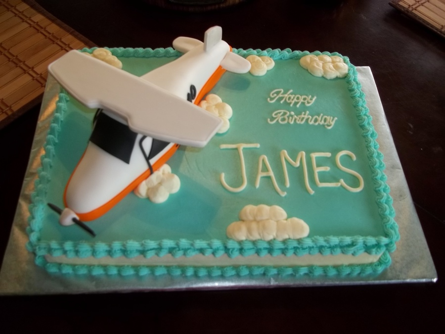 Airplane Birthday Cake on Cake Central