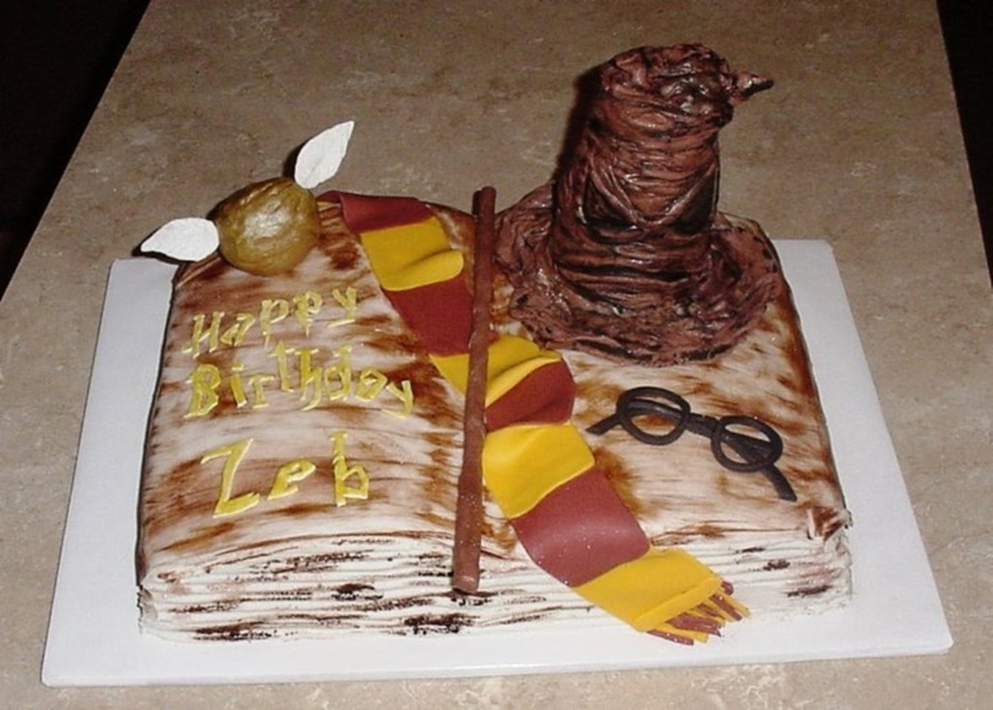 Harry Potter Theme on Cake Central