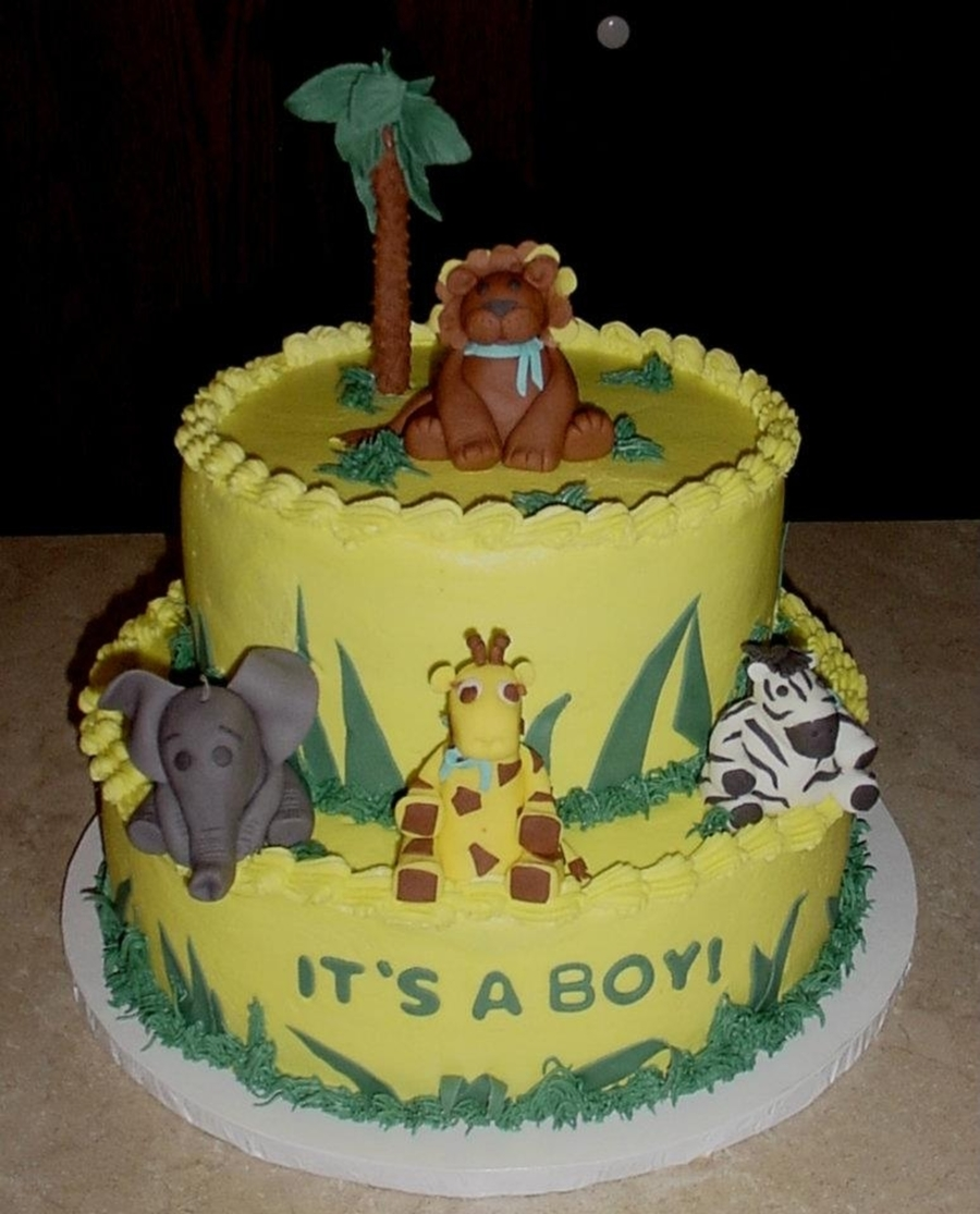 Fondant Zoo Animals on Cake Central