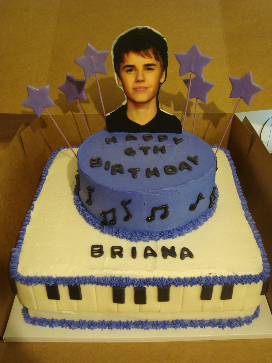 Justin Beiber Birthday Cake  on Cake Central