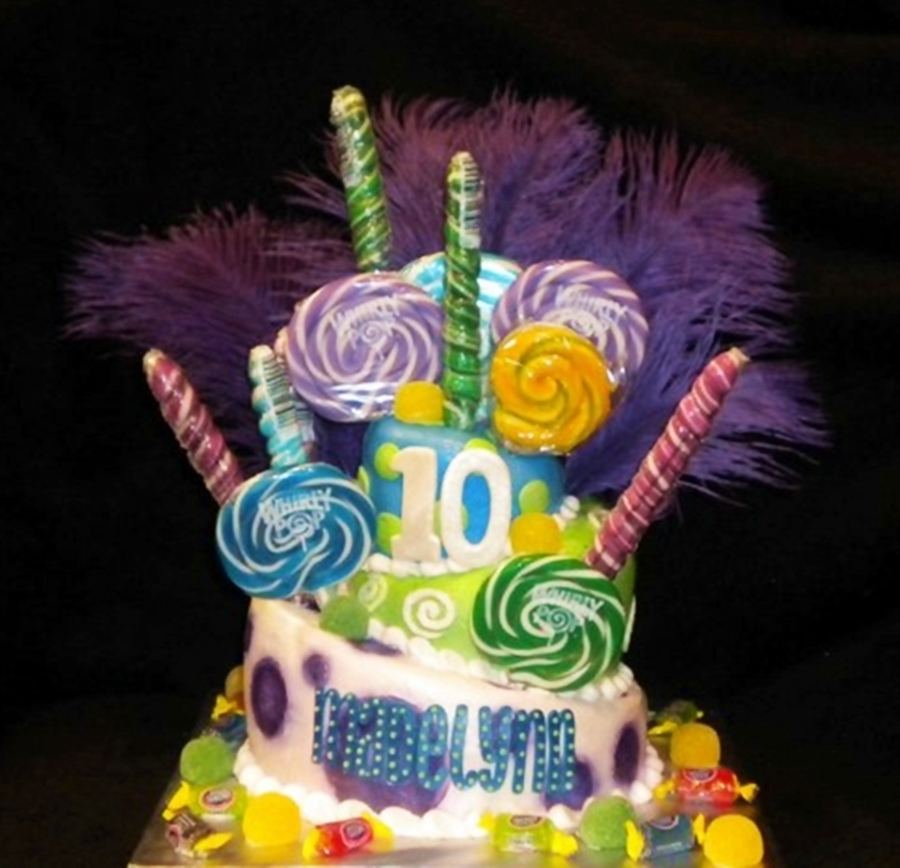 Whimsical Birthday Cake on Cake Central