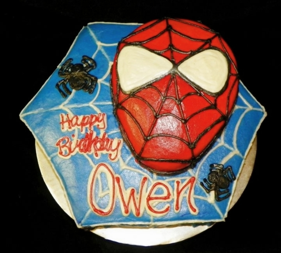 Spiderman Birthday Cake on Cake Central