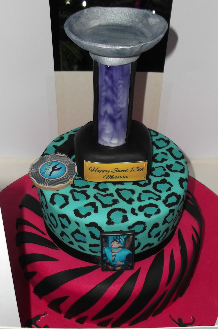 Freestyle Dancing Cake on Cake Central