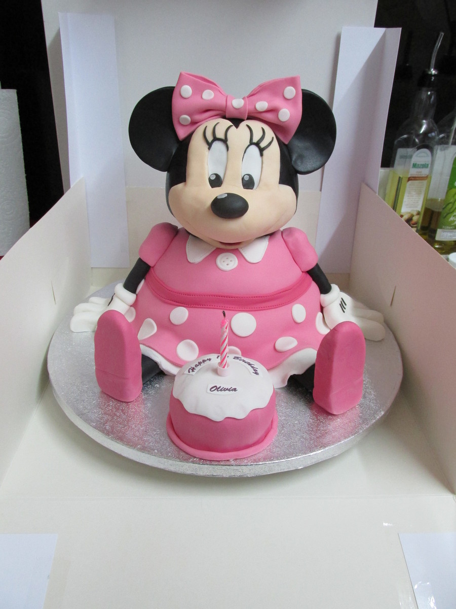 Images Of Minnie Mouse Cupcake Cake