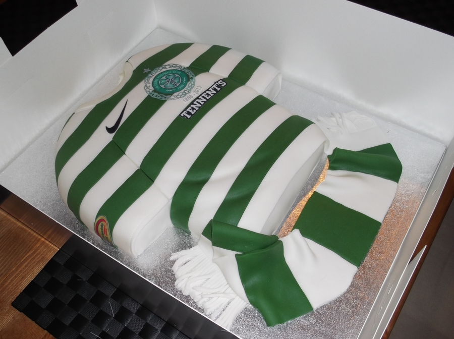 Celtic Fc Top Cake on Cake Central