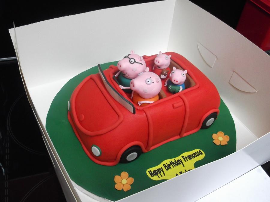 Peppa Pig Car Cakecentral Com