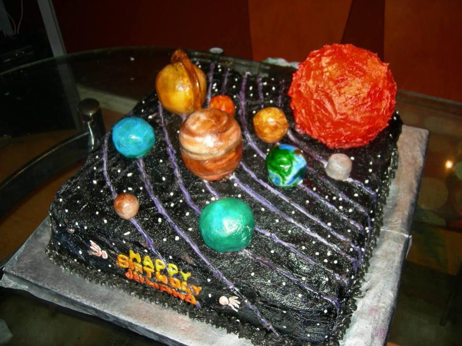 Solar System Cake Cakecentral Com