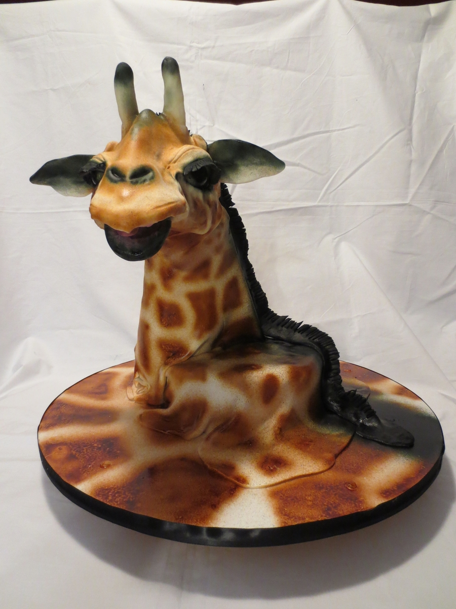 Giraffe Cake 2 on Cake Central