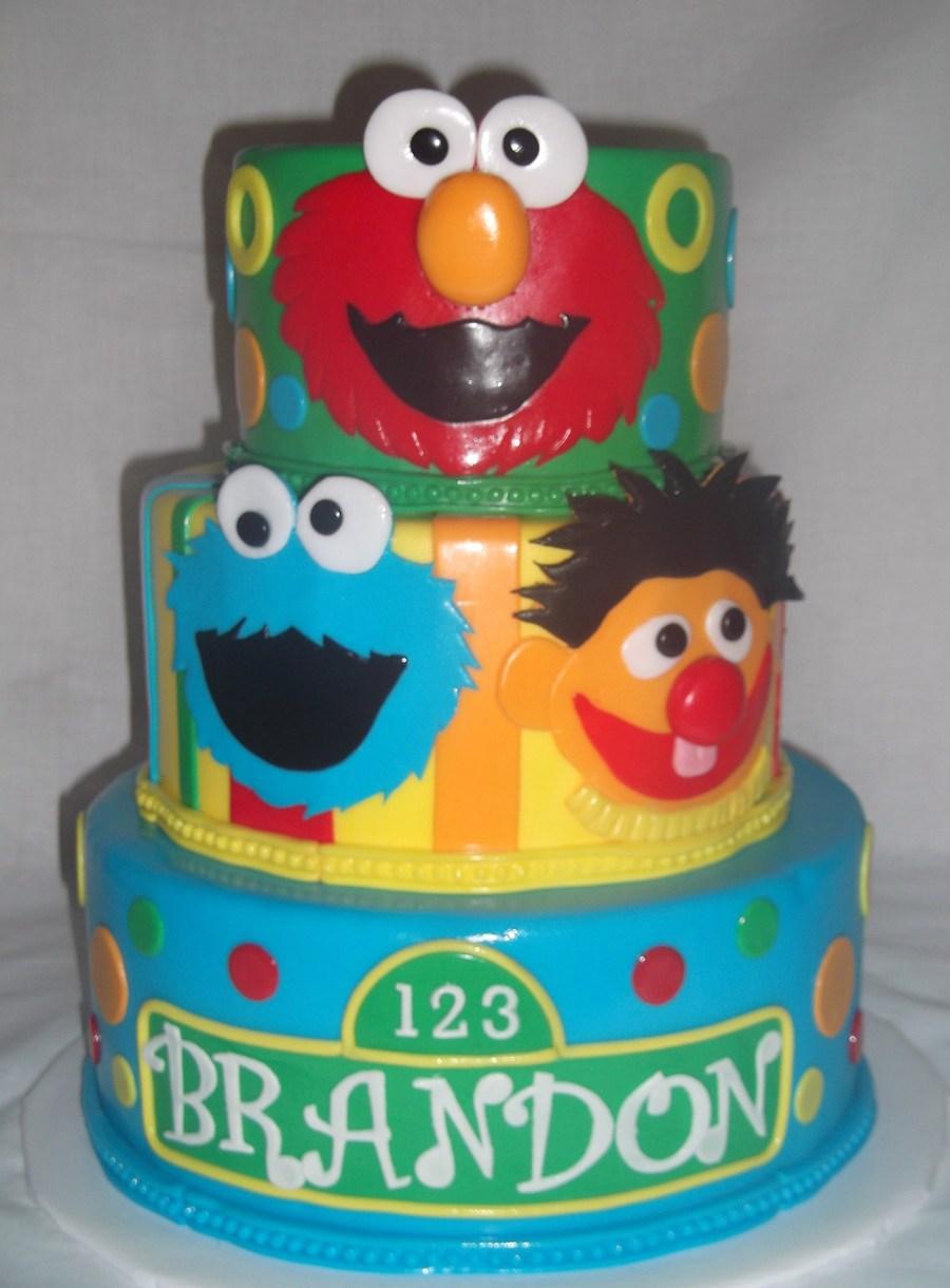 Cake Decorating Sesame Street Birthday : Sesame Street Cake - CakeCentral.com
