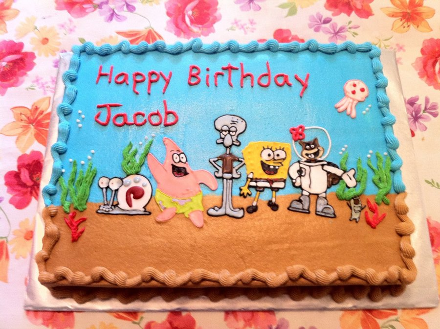 Spongebob And Patrick  on Cake Central