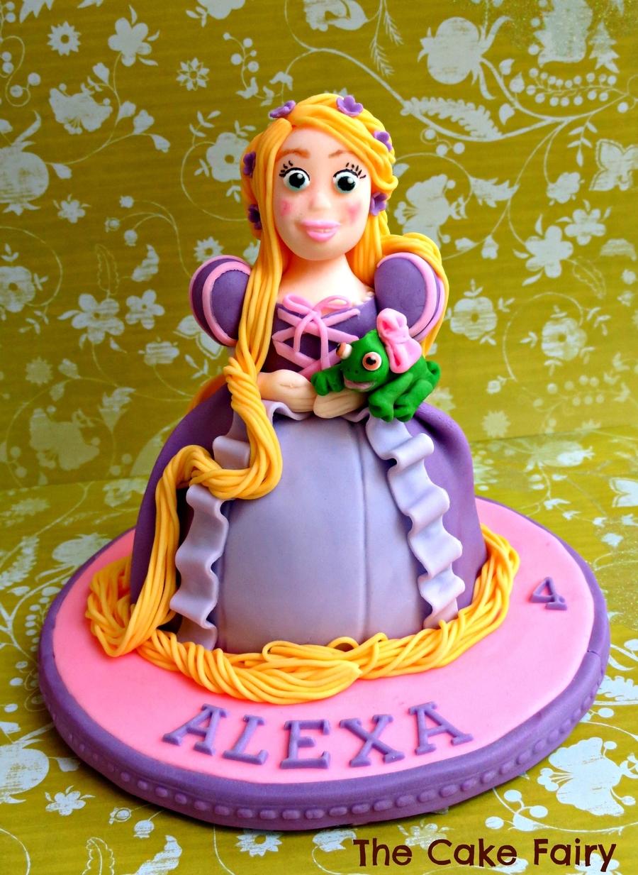 Tanja Cake Topper Artist : Rapunzel Cake Topper - CakeCentral.com