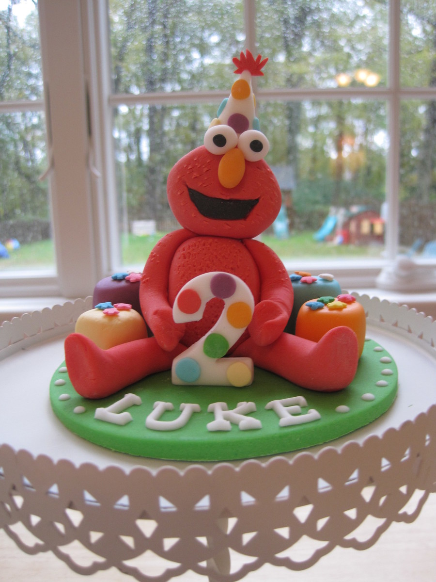 Birthday Elmo Cake Topper on Cake Central