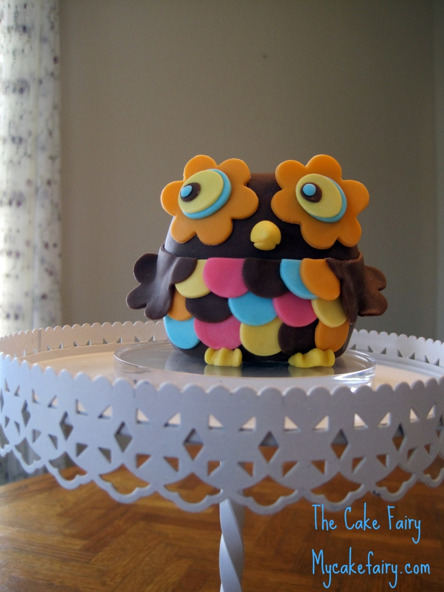 Owl Cake Topper on Cake Central