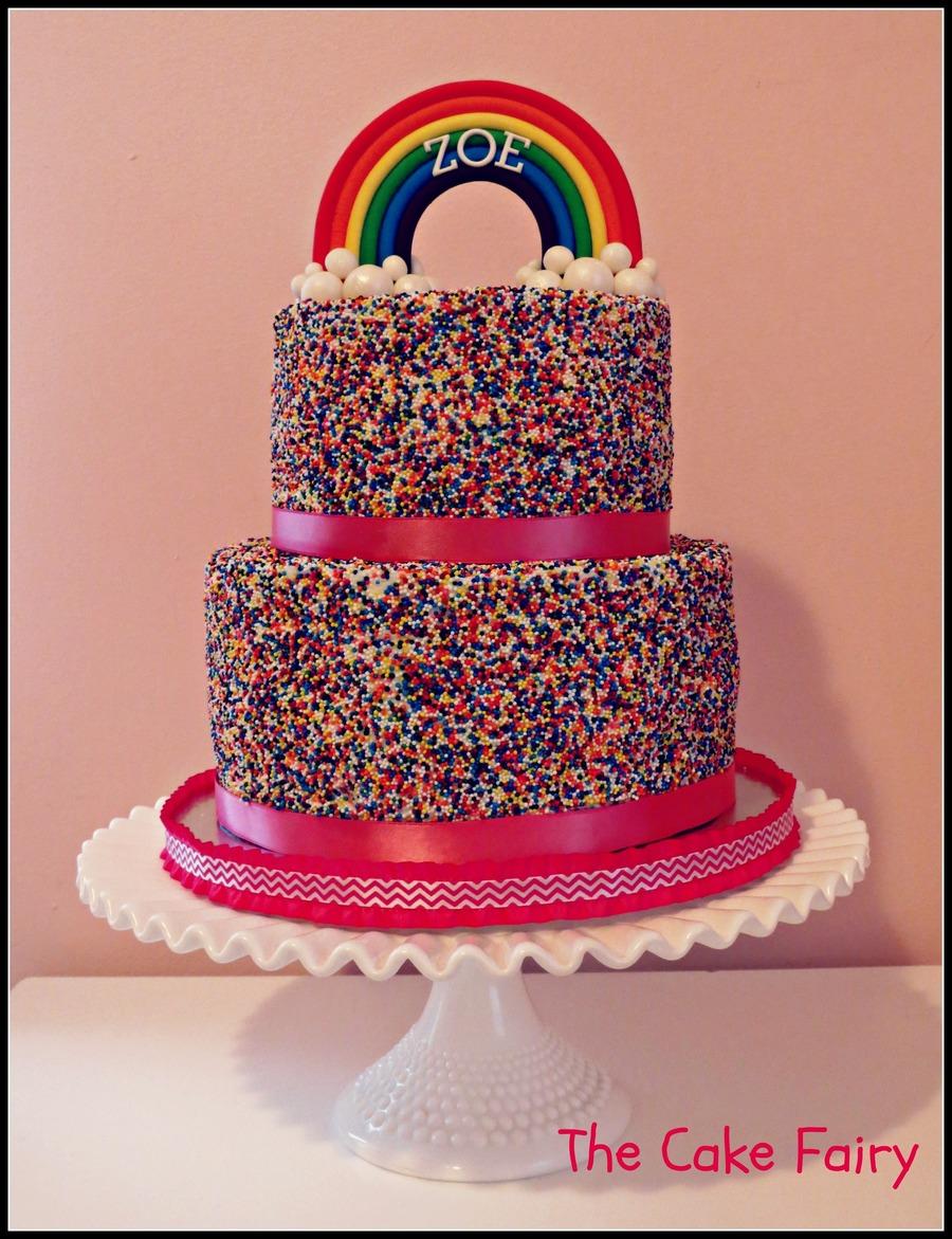 Cake Rainbow Sprinkles