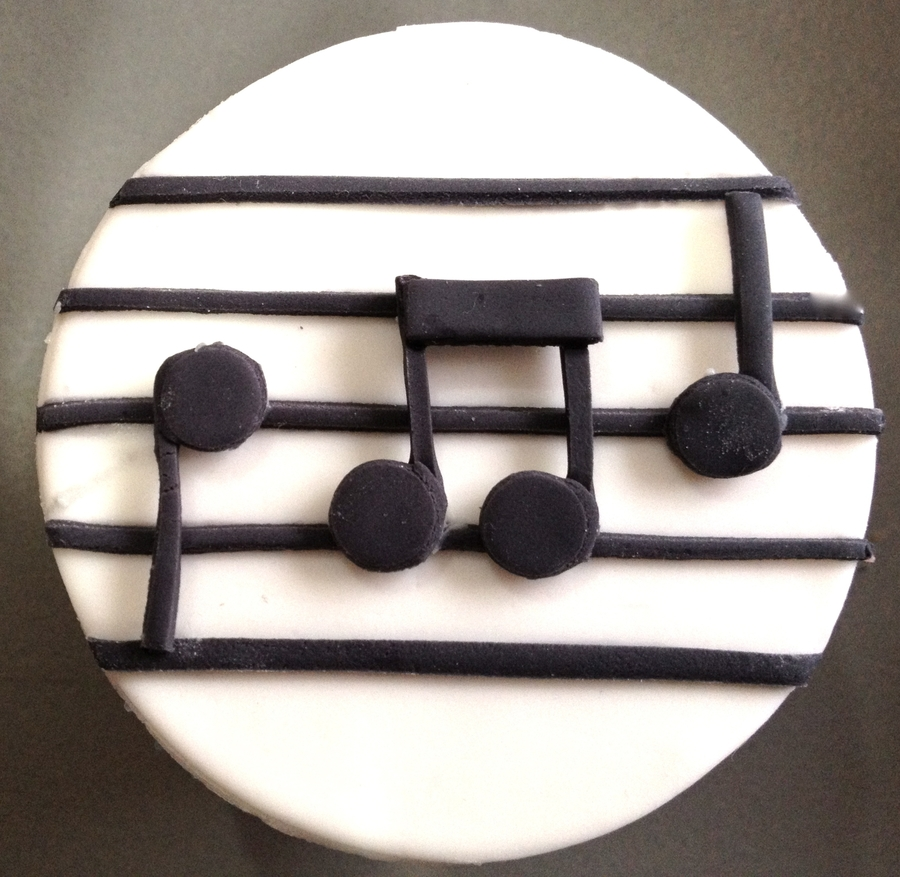 Music Note Cupcake on Cake Central
