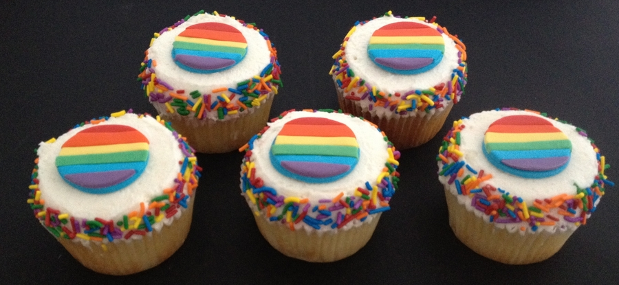 Pride Cupcakes on Cake Central