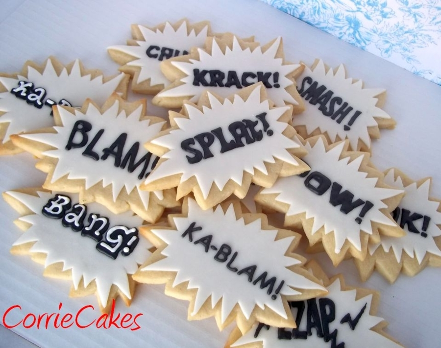 Sound Effects Cookies  on Cake Central