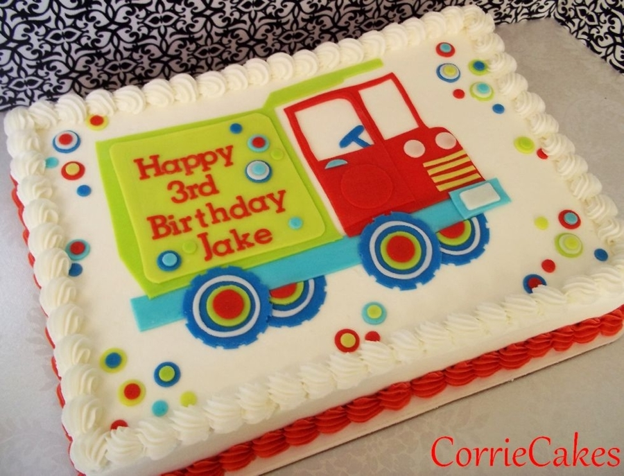 Dumptruck Birthday on Cake Central