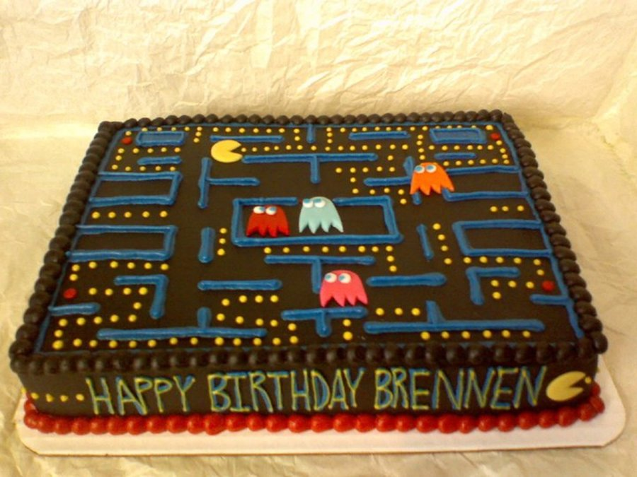 Pacman on Cake Central