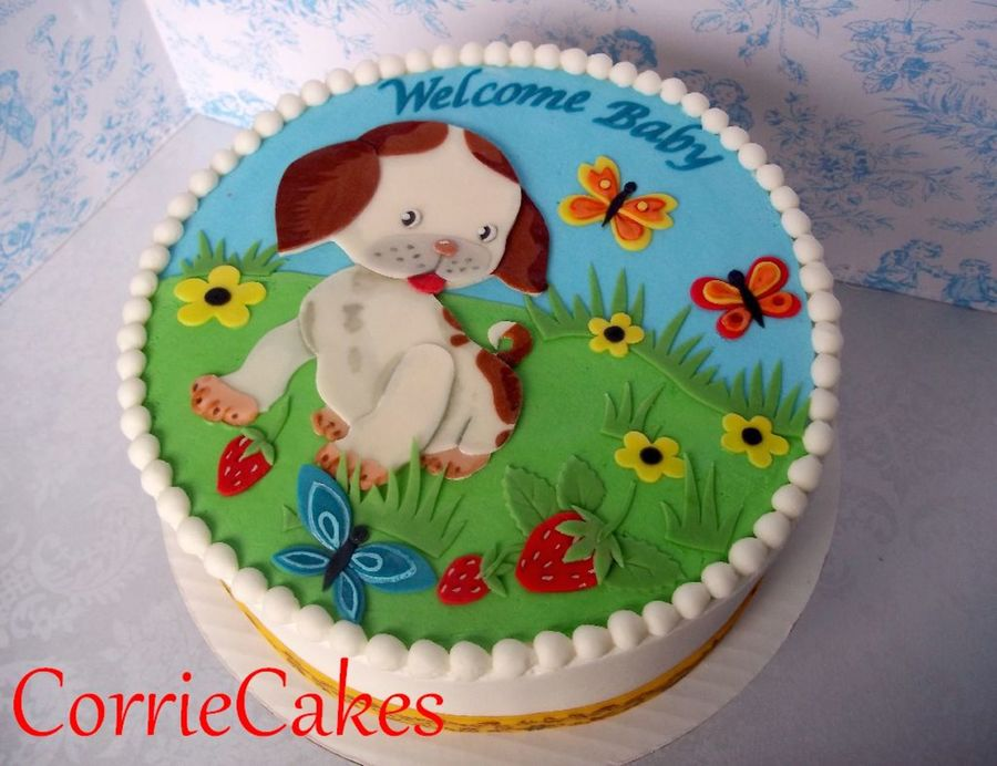 Pokey Little Puppy on Cake Central