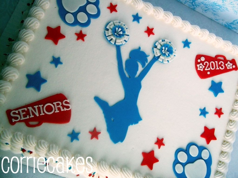 Cheerleader on Cake Central