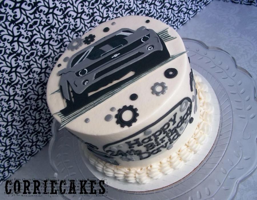 Camaro Birthday Cake Cakecentral Com
