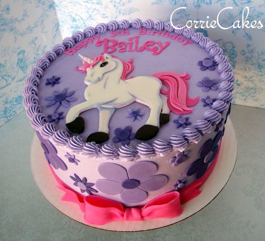 Unicorn Birthday Party Cake Recipes