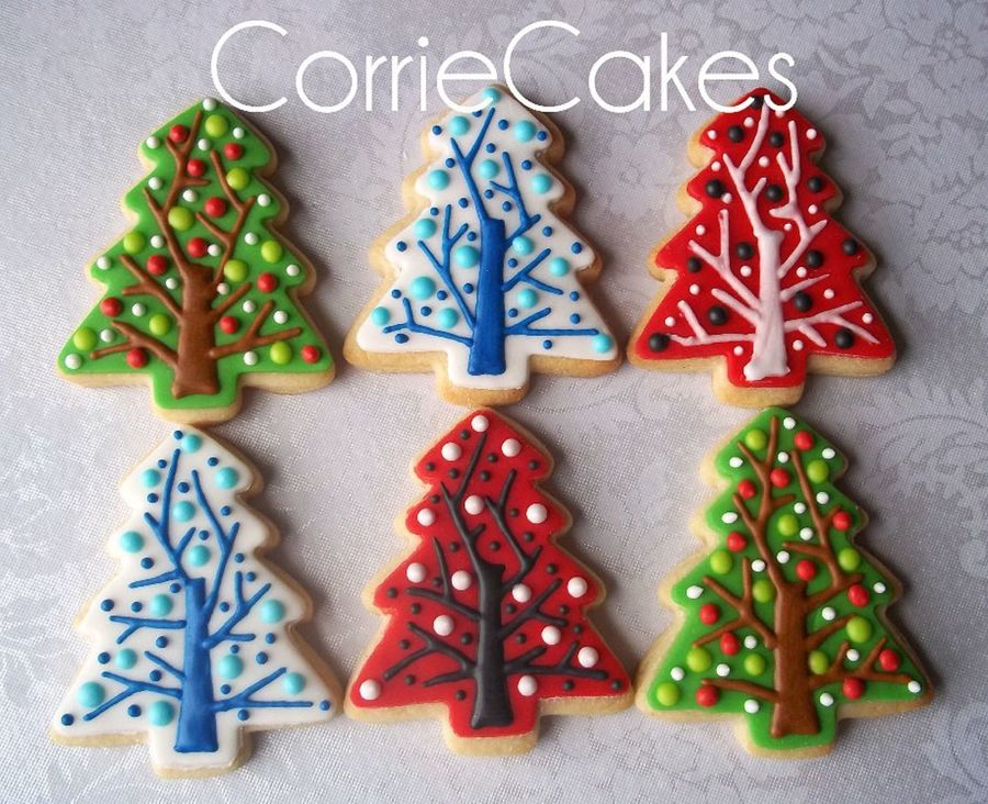 Decorating Ideas For Christmas Tree Cookies : Christmas cookies cakecentral