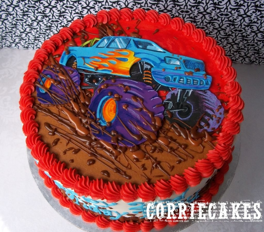 Monster Truck on Cake Central