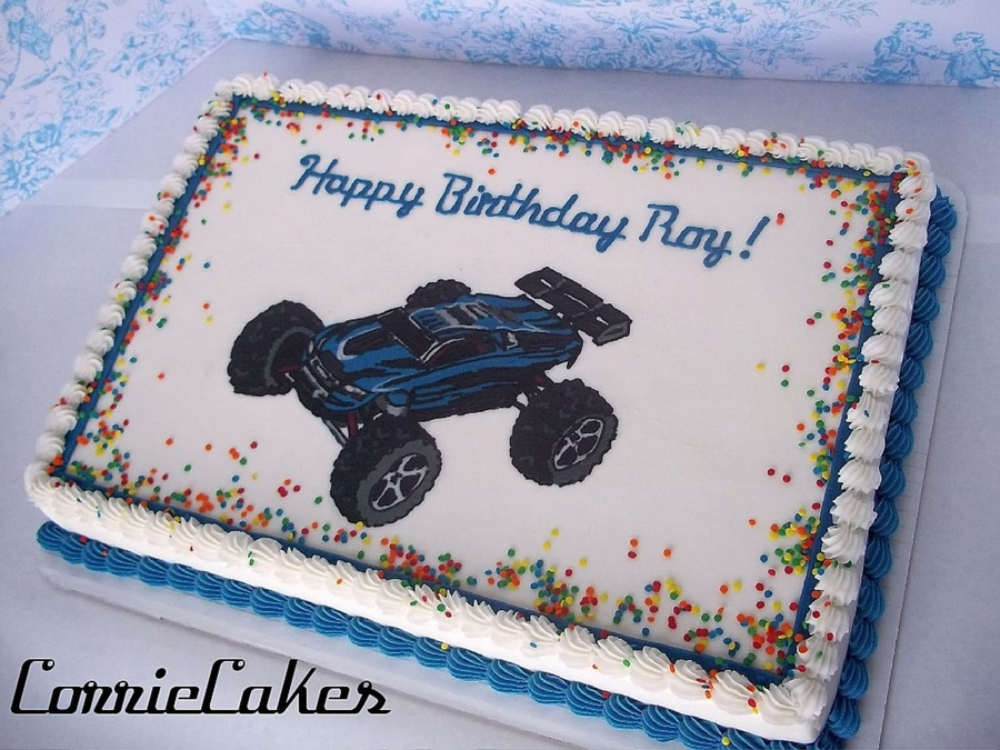 Rc Car B-Day on Cake Central