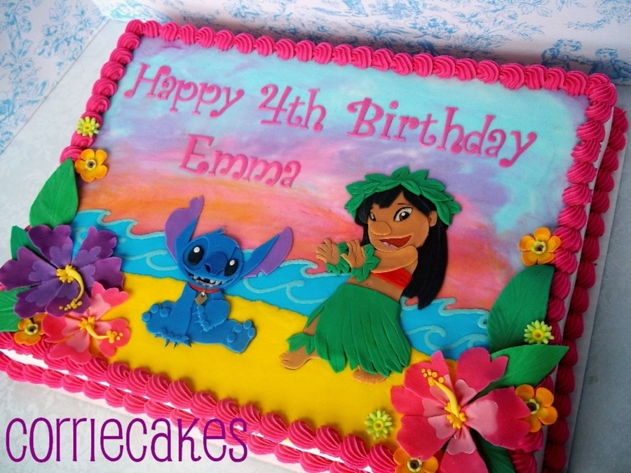Lilo And Stitch Cakecentral