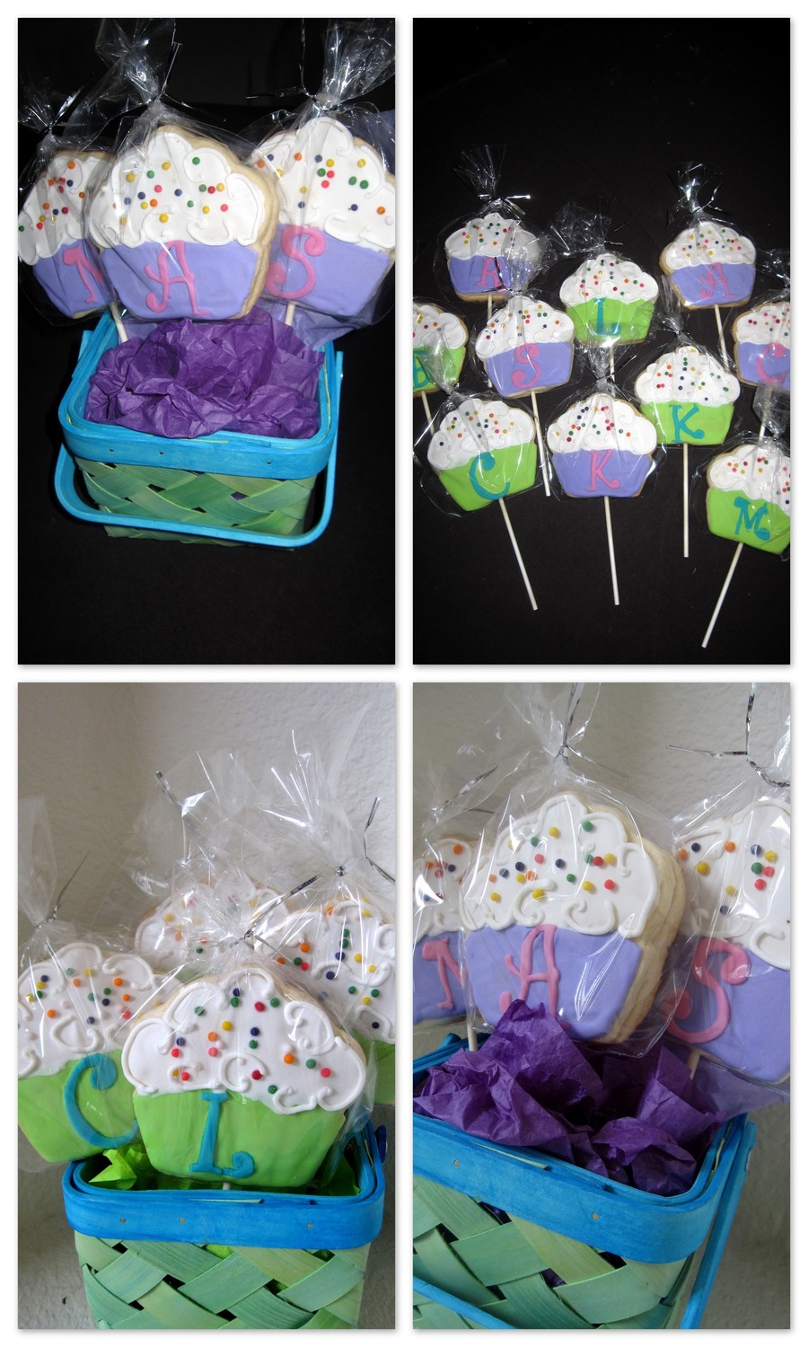 Cupcake Cookies On A Stick on Cake Central