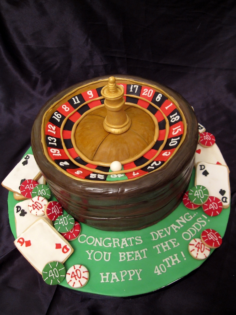 Roulette Wheel on Cake Central