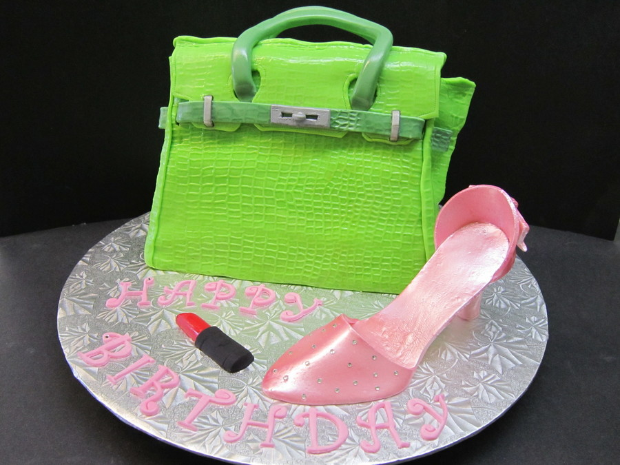 Purse And High Heel  on Cake Central