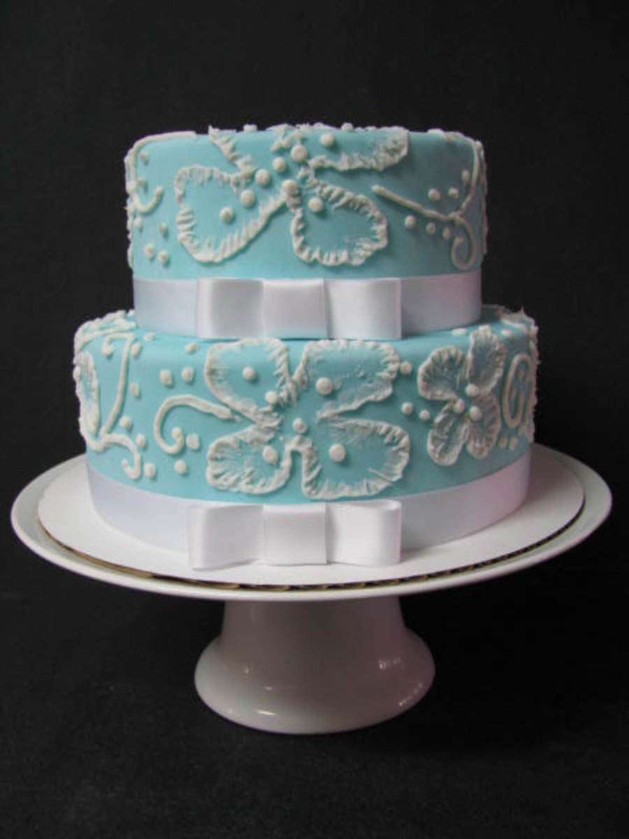 Wedgewood Inspired on Cake Central