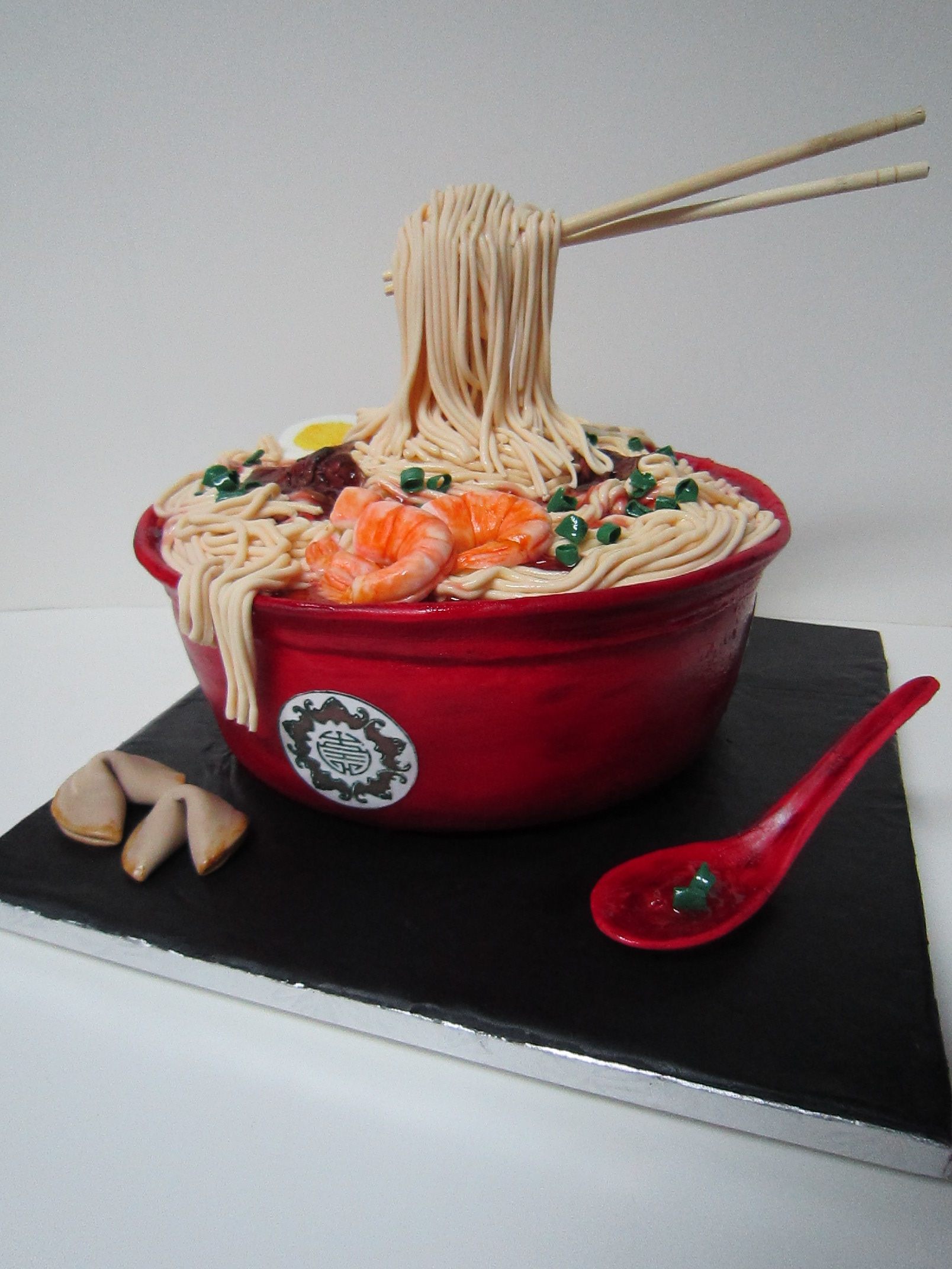 Ramen Noodle Cake on Cake Central
