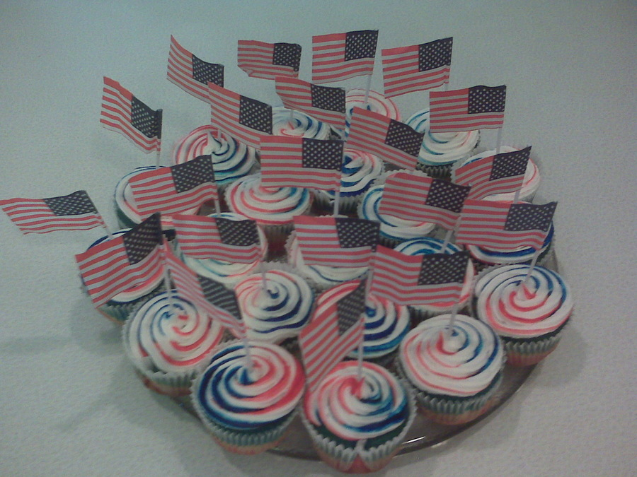 Fourth Of July Cupcakes on Cake Central
