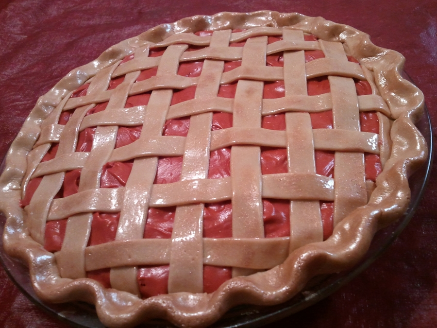 Cherry Pie on Cake Central