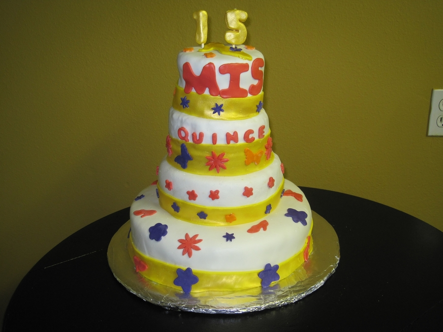 15 White And Yellow on Cake Central
