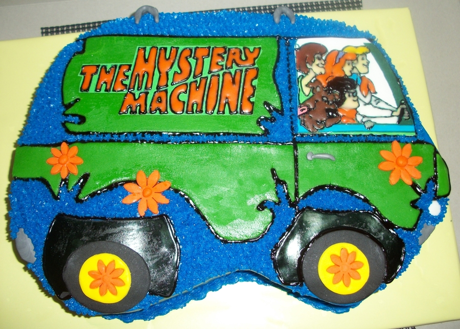 Mystery Machine on Cake Central