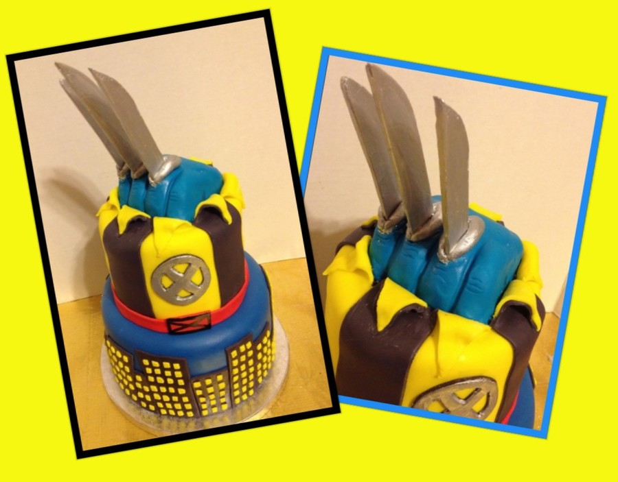 Wolverine on Cake Central