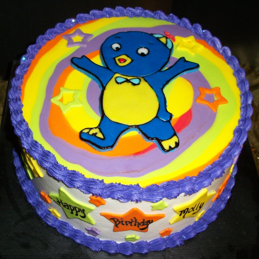 Backyardigans-Pablo on Cake Central