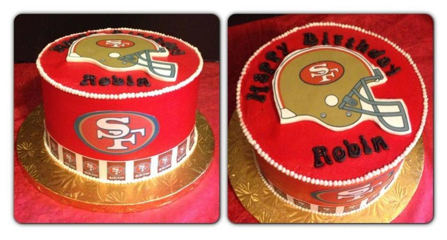 49Ers Birthday Cake on Cake Central