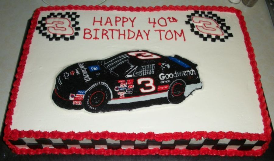 Dale Earnhardt Sr Cake on Cake Central