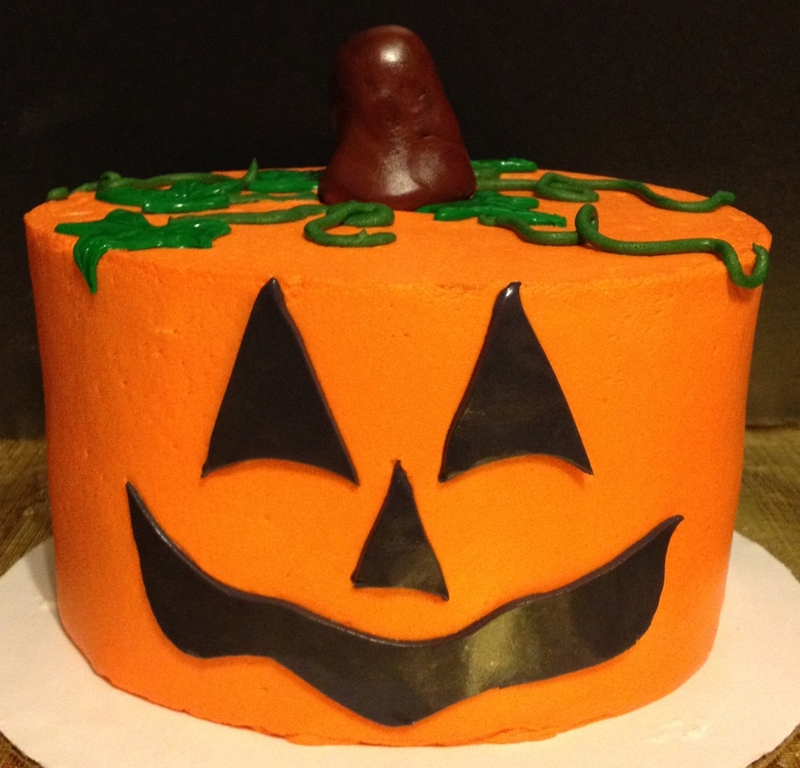 Pumpkin Face on Cake Central