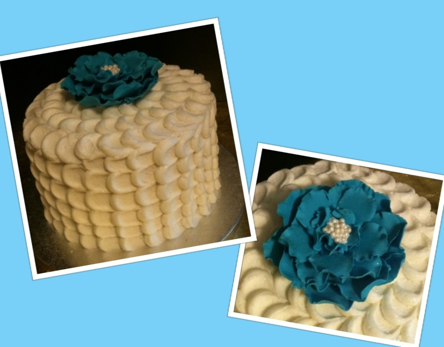 Petal Effect Cake on Cake Central