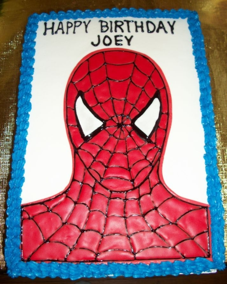 Spiderman Cake Ideas Free