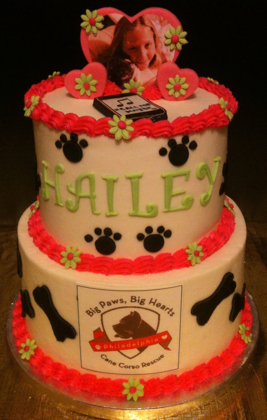 Dog Rescue Cake on Cake Central